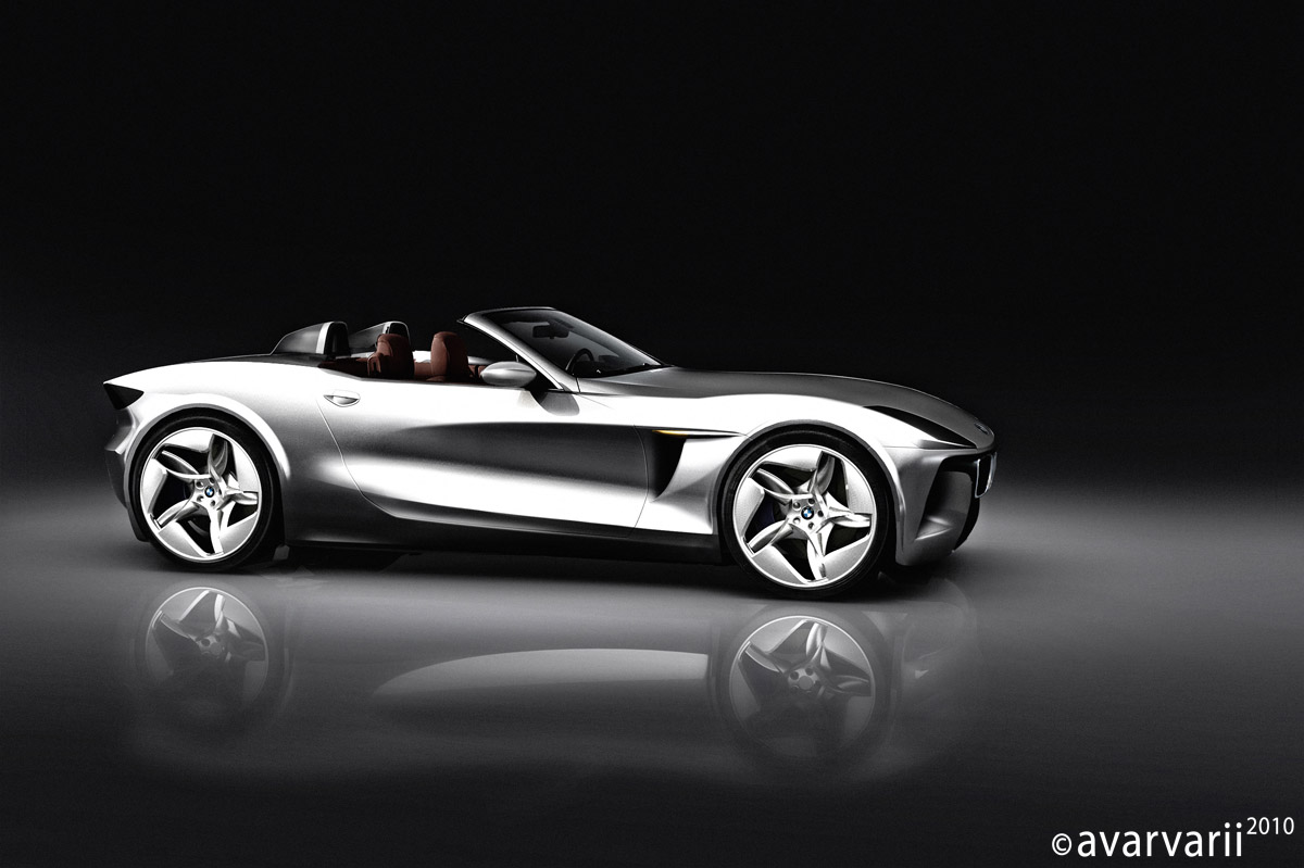 Bmw Spyder Stradale Rendering News Top Speed