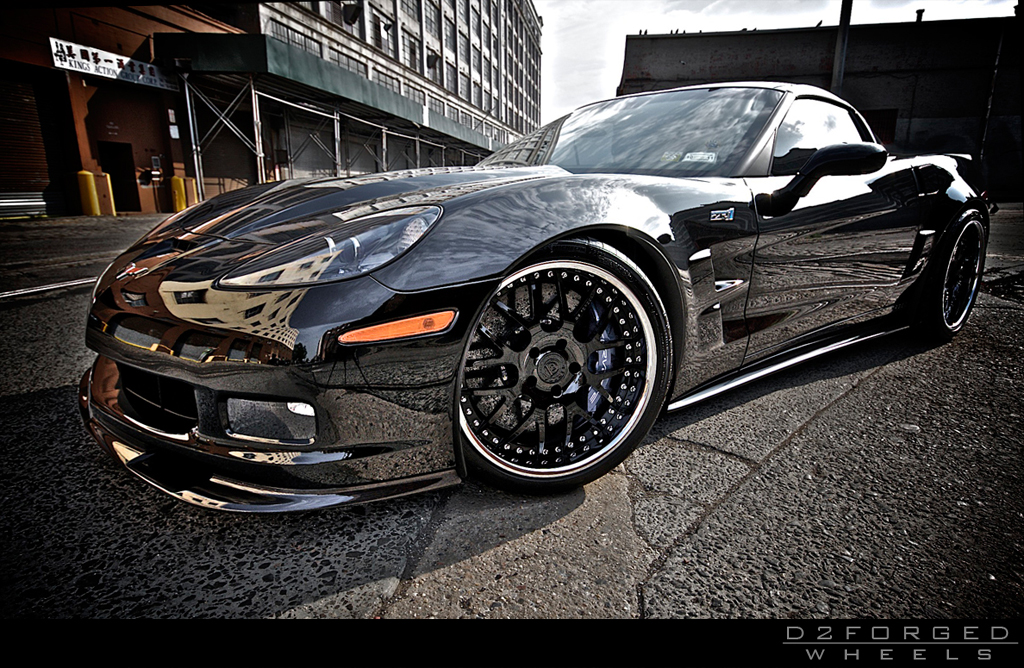 Custom Car Paint >> 2010 Chevrolet Corvette ZR1 By D2Forged | Top Speed
