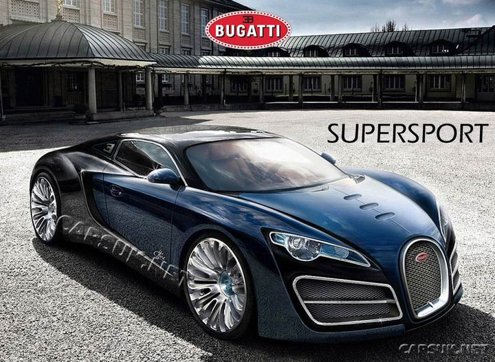 Bugatti super sport top speed