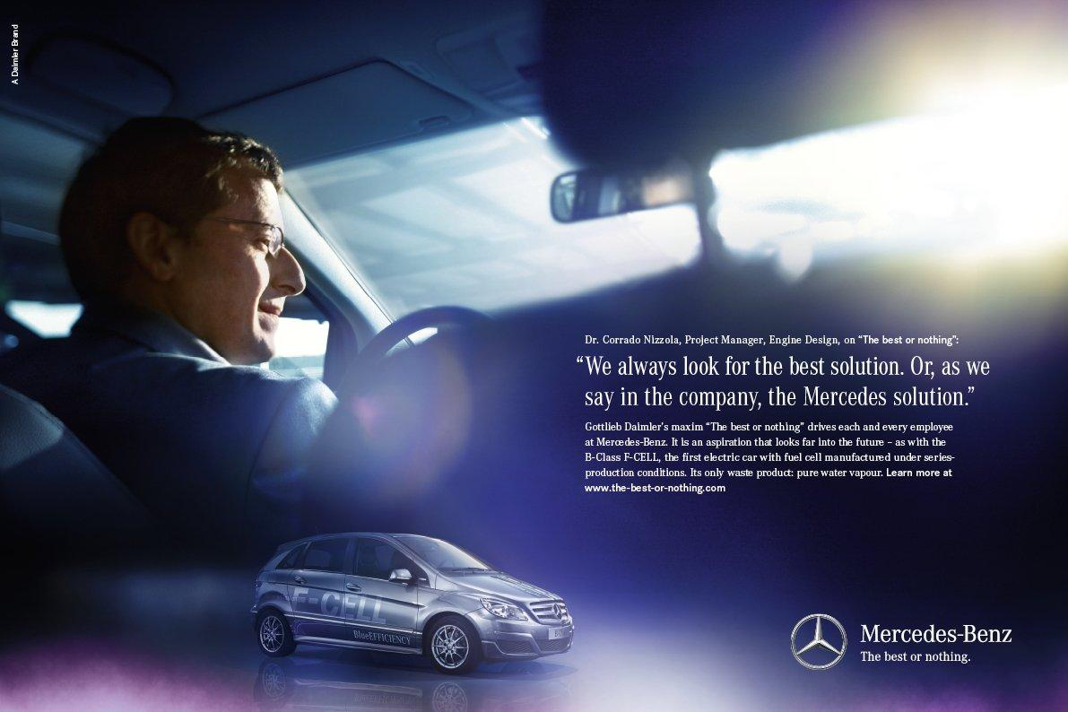 Mercedes to come out with new company slogan news top speed for Mercedes benz tagline