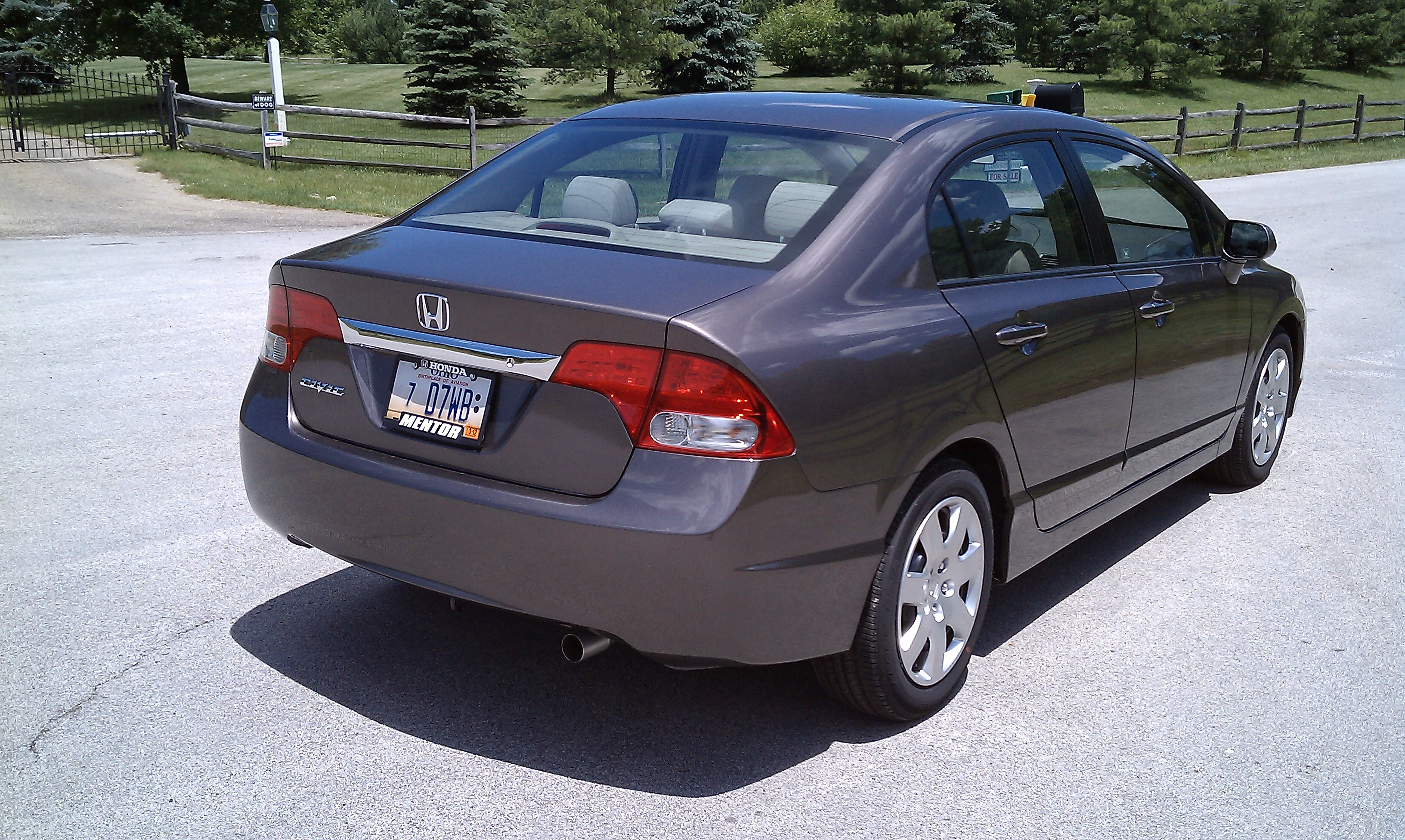 Review: 2010 Honda Civic Sedan LX | Top Speed. »