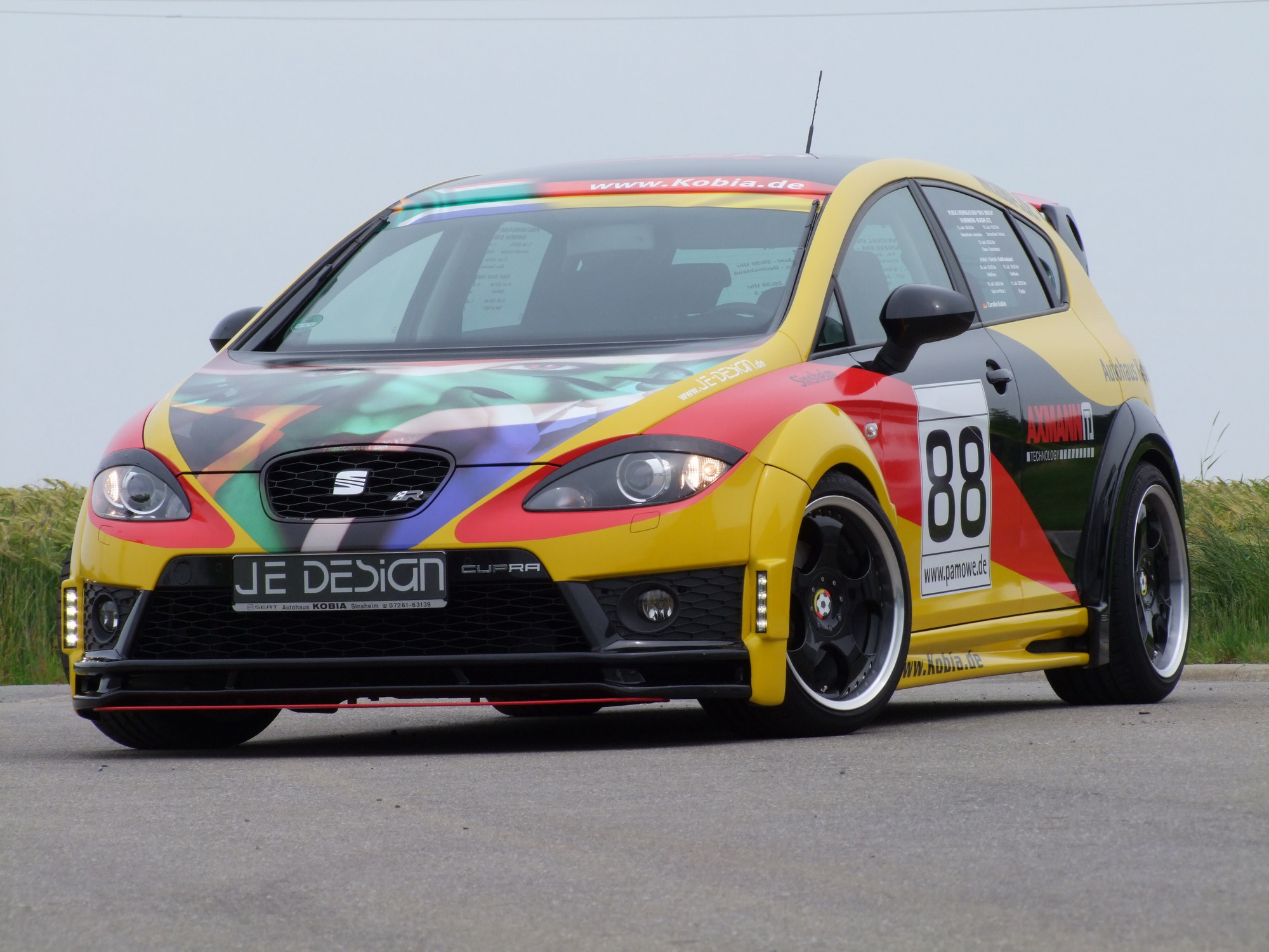 2010 seat leon cupra r by je design and kobia top speed. Black Bedroom Furniture Sets. Home Design Ideas