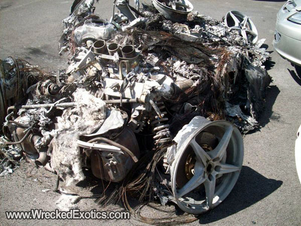 Another Ferrari 458 Italia Gets Completely Destroyed   Top ...