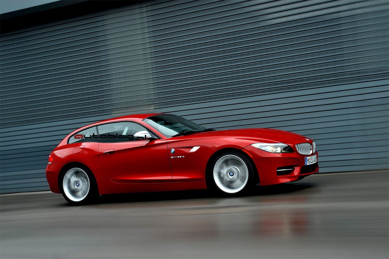 Bmw Works On Z4 Shooting Brake Top Speed
