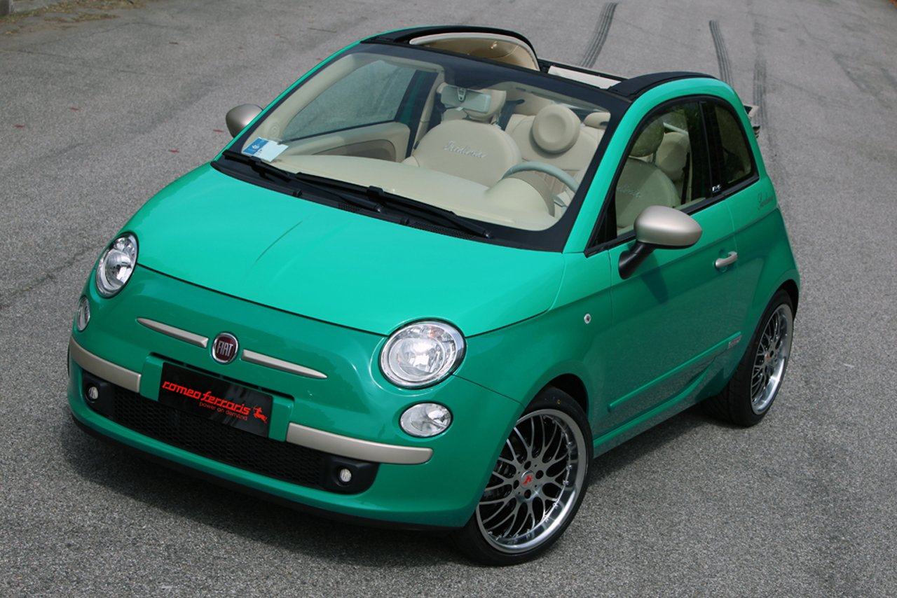 2010 fiat 500c sardinia by romeo ferrari review top speed. Black Bedroom Furniture Sets. Home Design Ideas