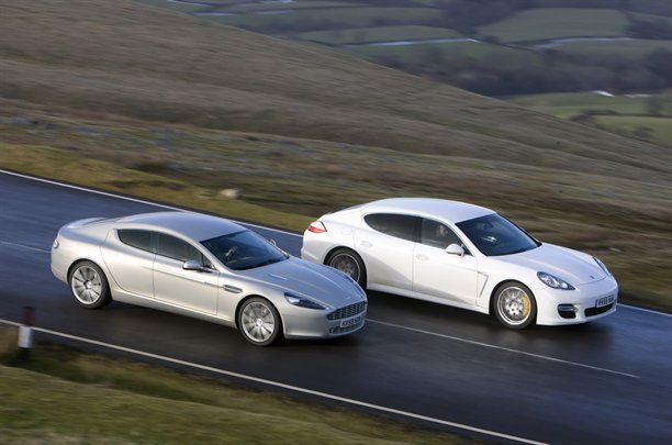 FourDoor European Saloons Aston Martin Rapide Vs Porsche Panamera - Aston martin four door