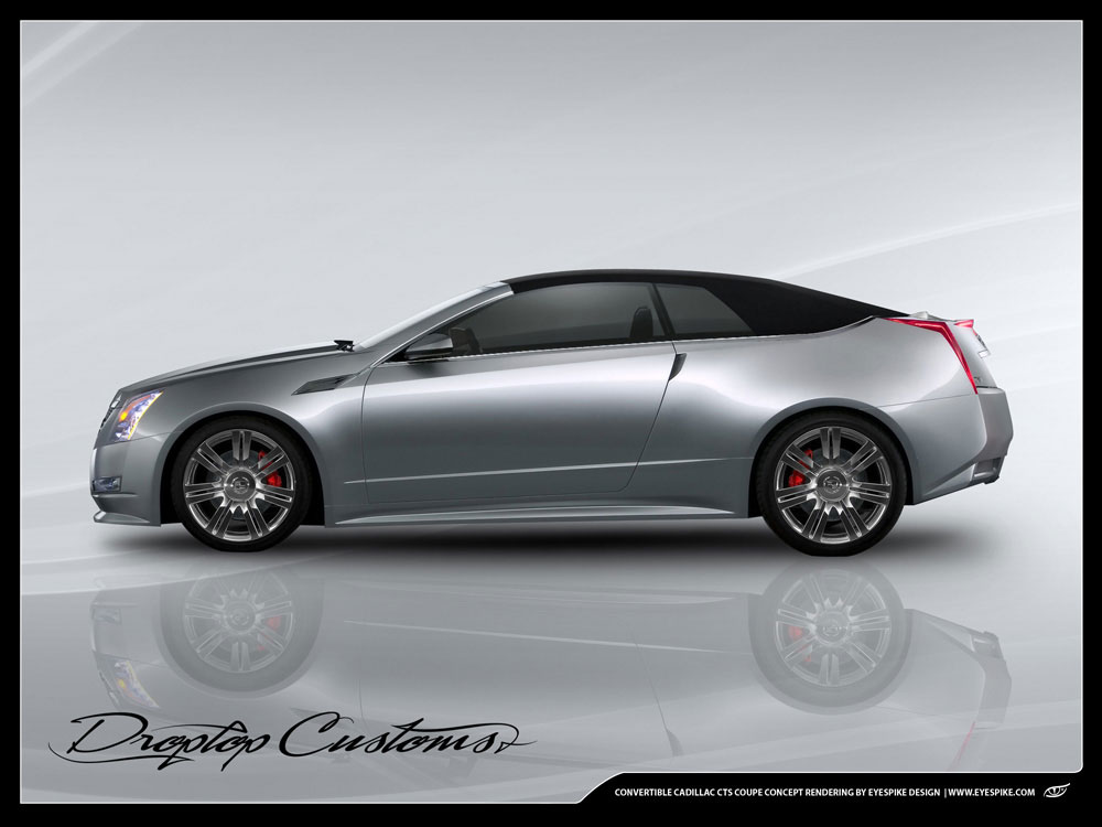 2010 Cadillac Cts Coupe Convertible By Droptop Customs Top Speed