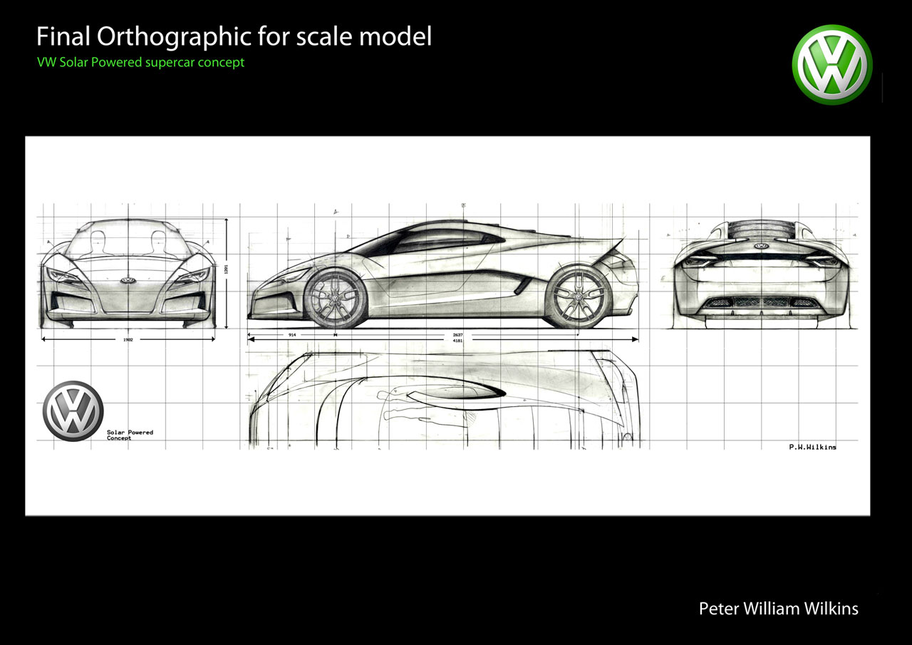 Check Out This Solar Powered Volkswagen Supercar Top Speed Car Diagram