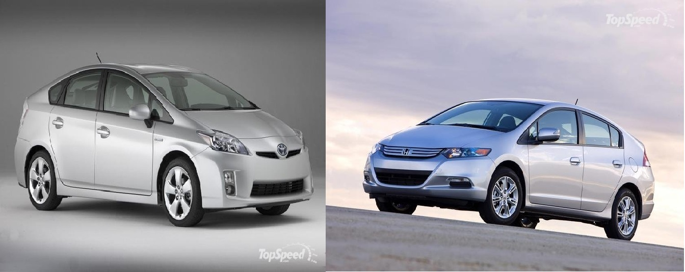 The Green Wars 2010 Toyota Prius Vs 2010 Honda Insight Top Speed