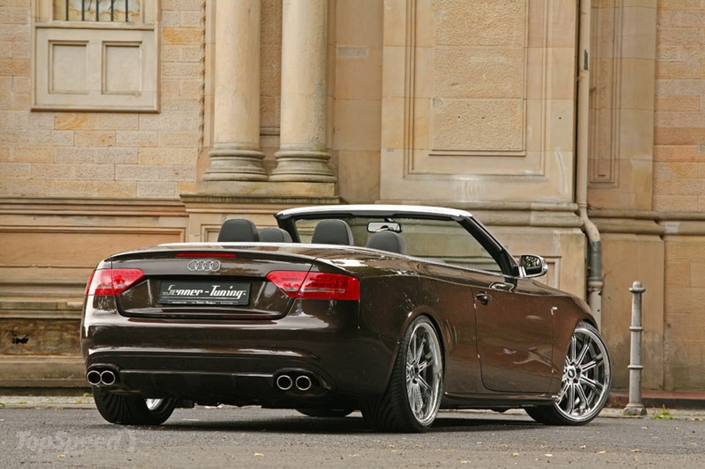 audi a5 cabrio by senner tuning picture 373684 car. Black Bedroom Furniture Sets. Home Design Ideas