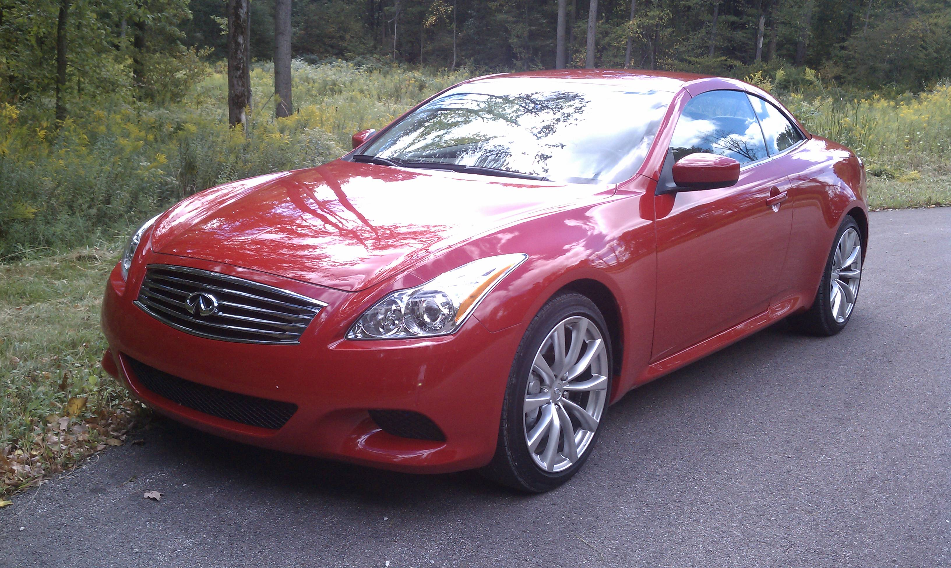 Infiniti G37 Reviews Specs Prices Photos And Videos Top Speed M37 Wire Harness Autumn Convertibles 2010 Convertible