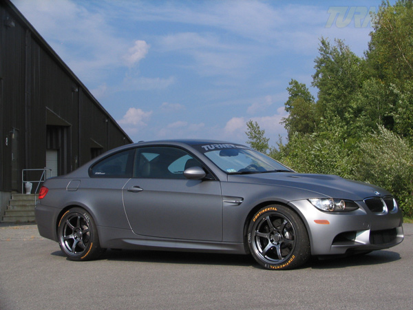 2010 Bmw M3 Coupe Frozen Gray By Turner Motorsports Top
