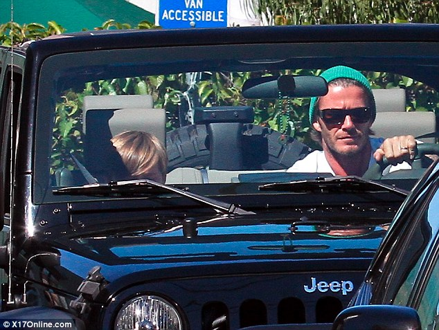 David Beckham Drives A $40,000 Jeep Wrangler Just Like The Rest Of ...
