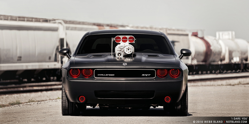 2009 Dodge Challenger Srt8 By Cult Energy Drink Top Speed