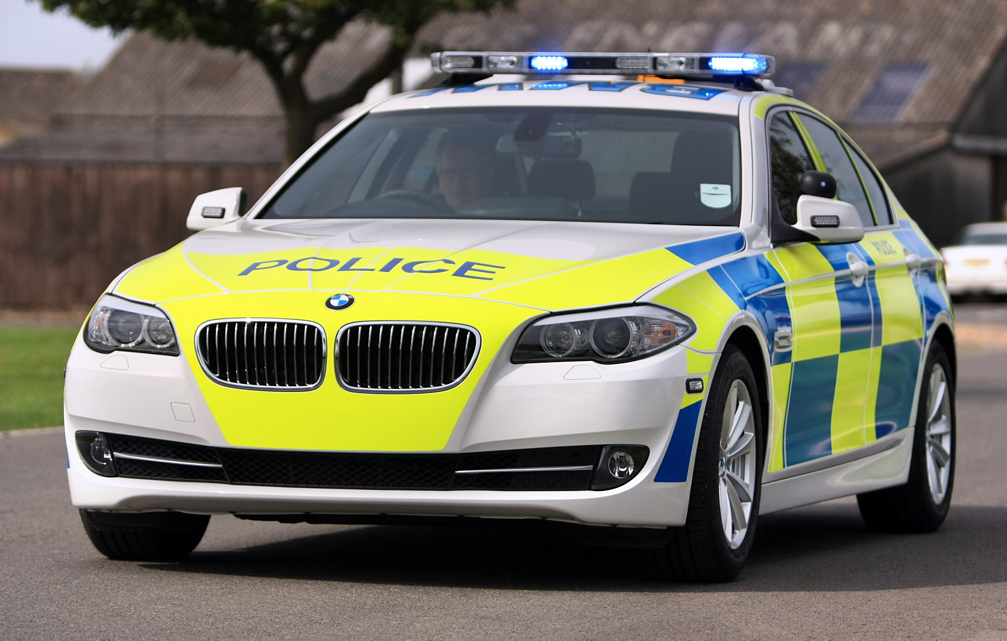 bmw giving uk police forces new cars | top speed