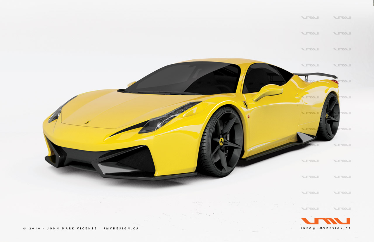 Ferrari 458 italia gt concept by jmv news top speed download ever since ferrari has unveiled the new 458 italia vanachro Images