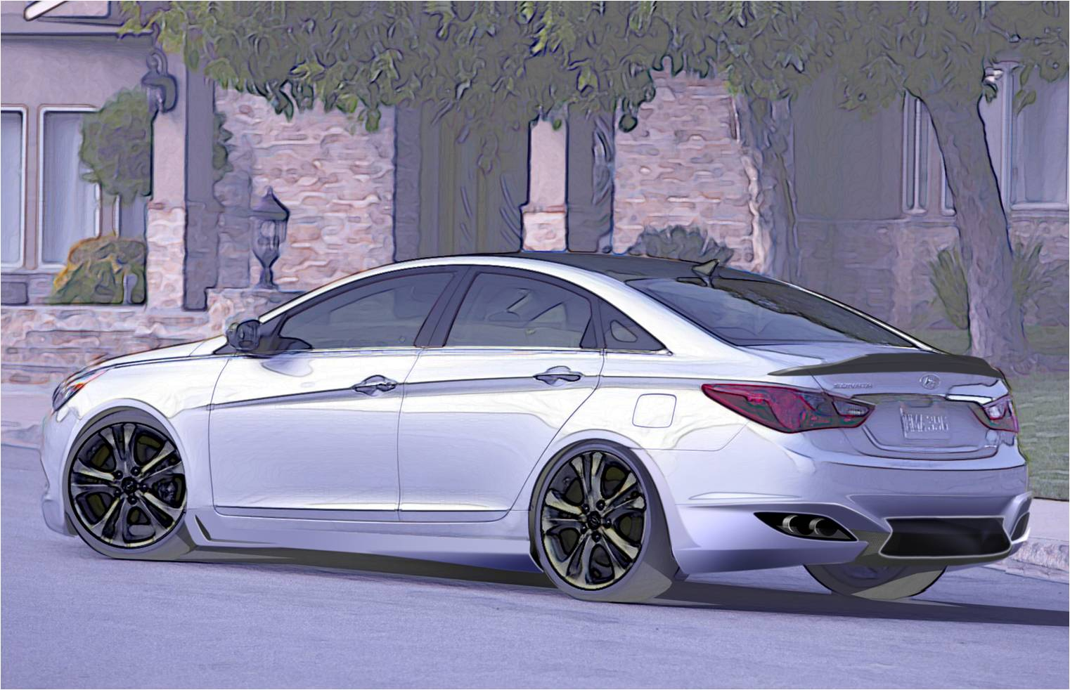 Hyundai Sonata 2 0t By Rides To Debut At Sema Top Speed