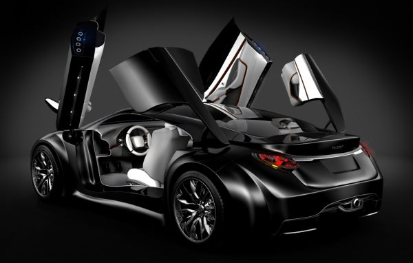 2010 Peugeot Shine Concept Top Speed