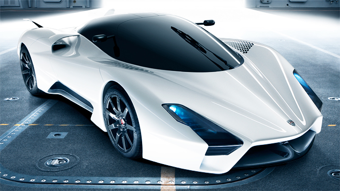 SSC Ultimate Aero II - New Images Revealed | Top Speed