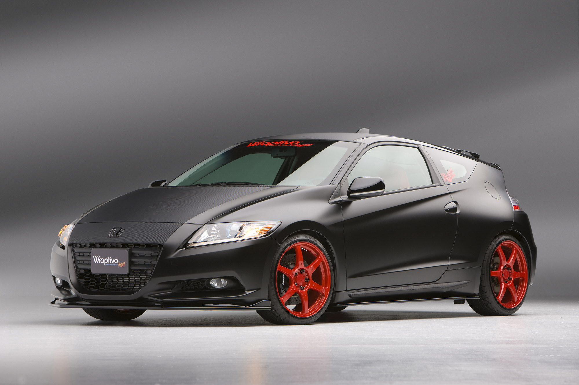 2011 honda cr z type f concept by wraptivo top speed. Black Bedroom Furniture Sets. Home Design Ideas