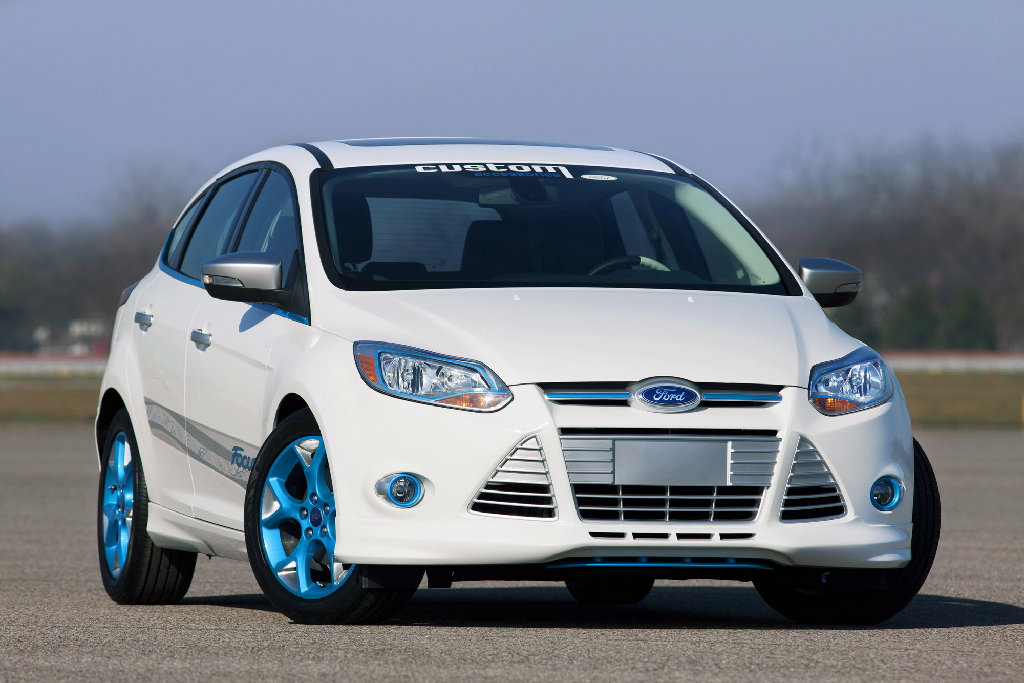 Ford Armed Themselves With A Host Of Fiestas At The 2010 SEMA Auto Show But Los Angeles Will See Mass Focus Models Enter Their