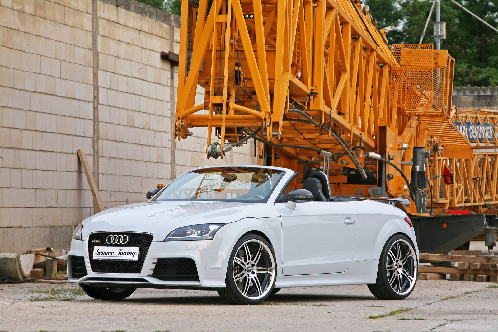2010 audi tt rs by senner tuning top speed. Black Bedroom Furniture Sets. Home Design Ideas