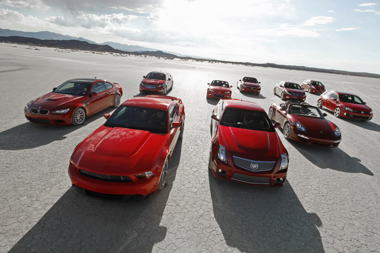 car and driver announces 10 best cars for 2011 top speed. Black Bedroom Furniture Sets. Home Design Ideas