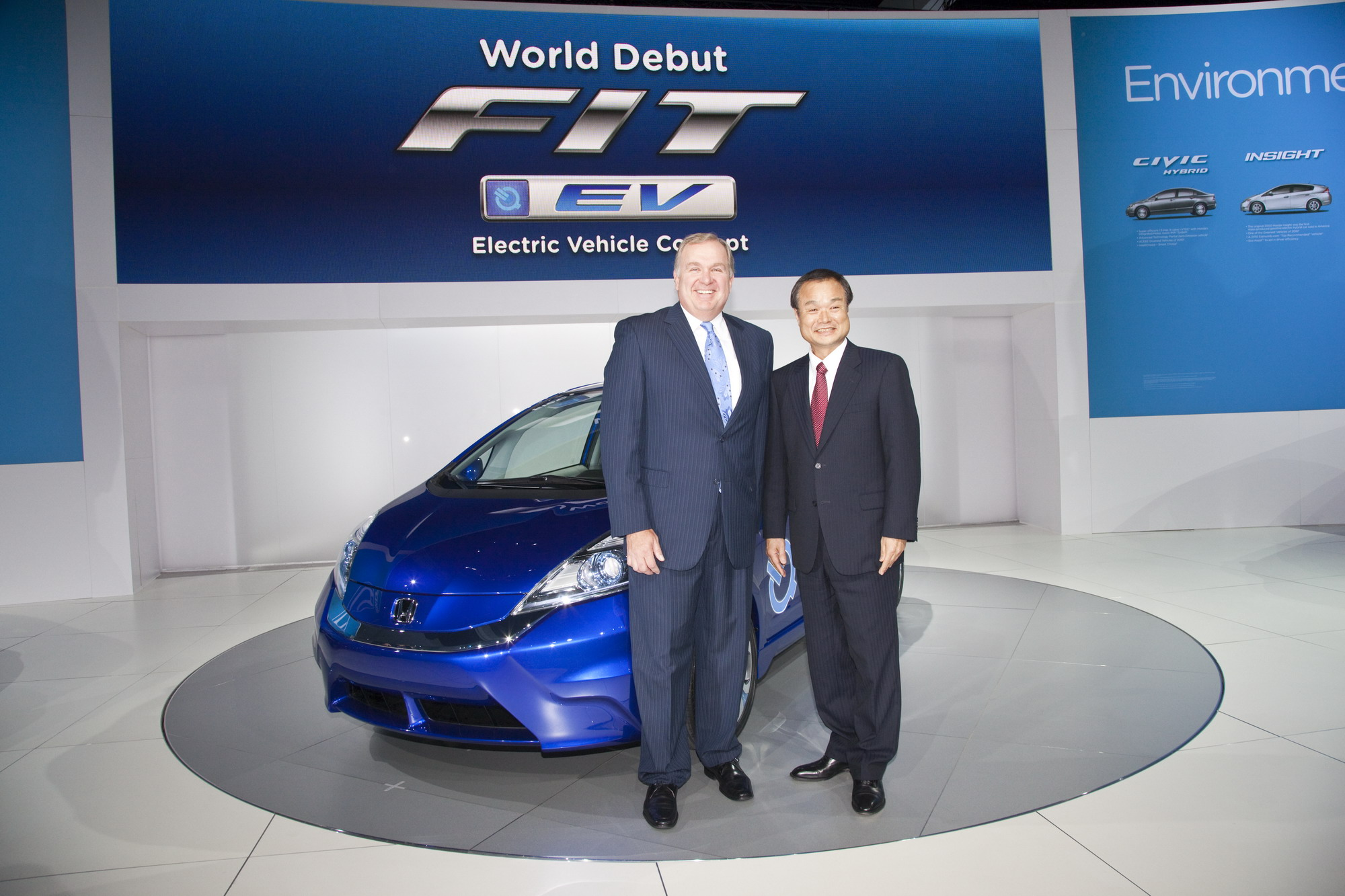 2011 Honda Fit EV Concept Review Top Speed