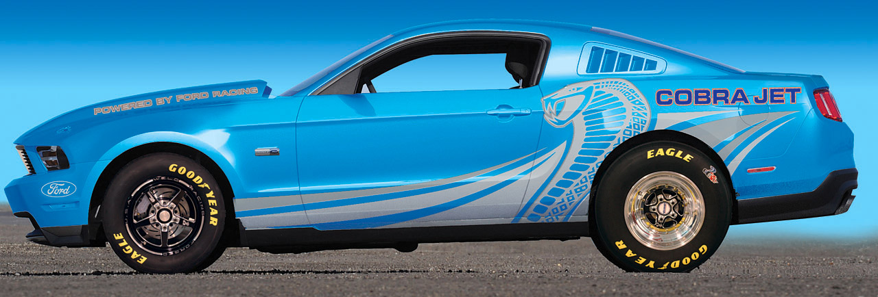 2012 Ford Mustang Cobra Jet | Top Speed