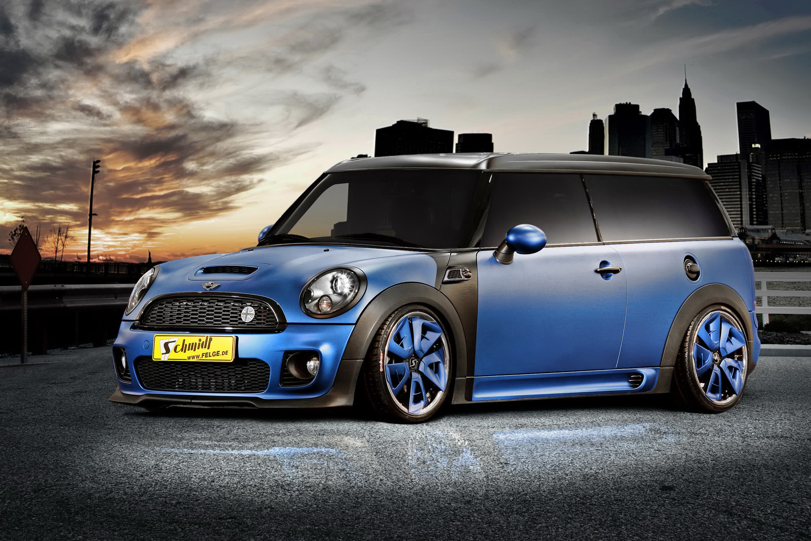 2011 Mini Clubman Cooper S Streetworker By Schmidt Revolution Top