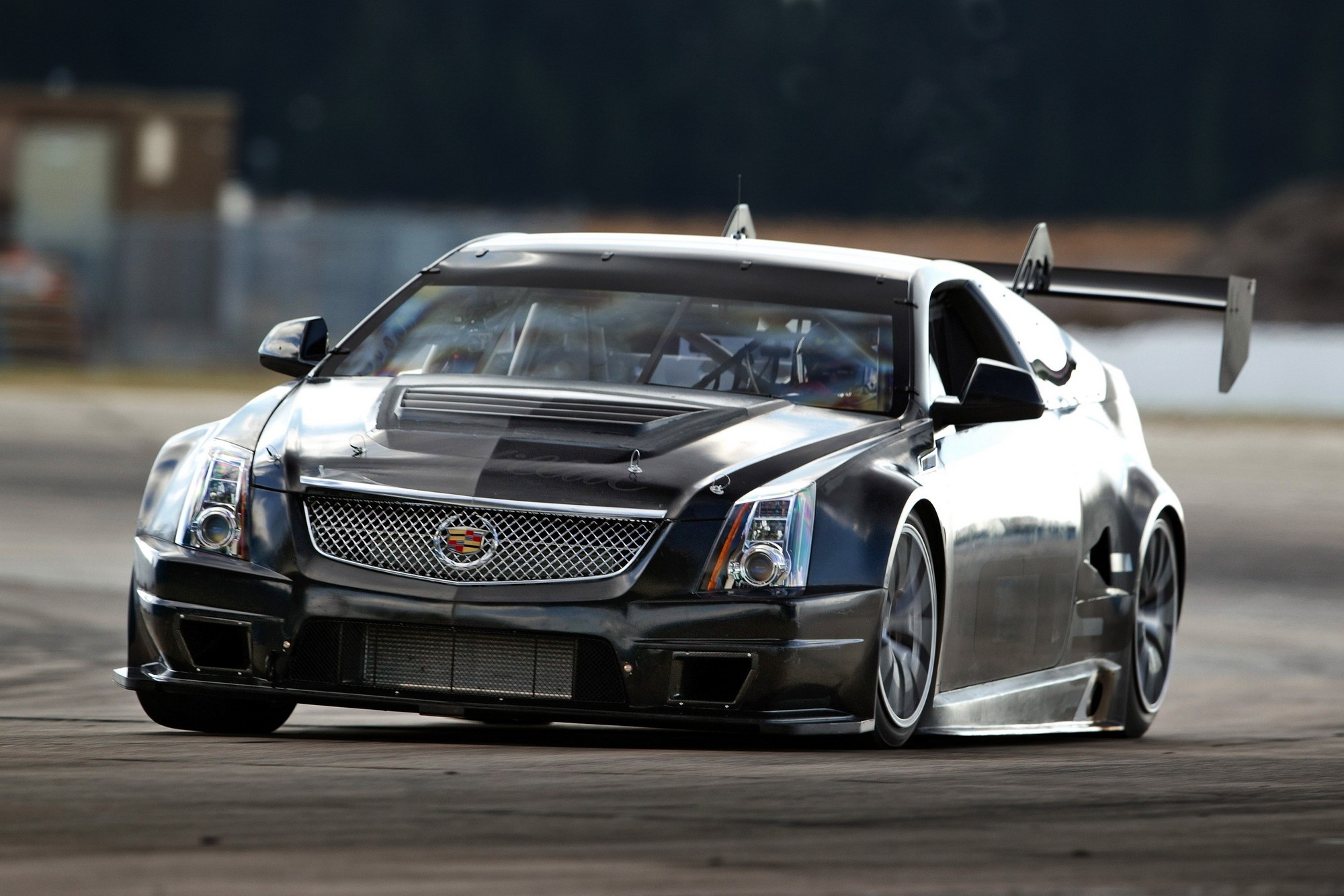 2011 cadillac cts v coupe race car top speed. Black Bedroom Furniture Sets. Home Design Ideas