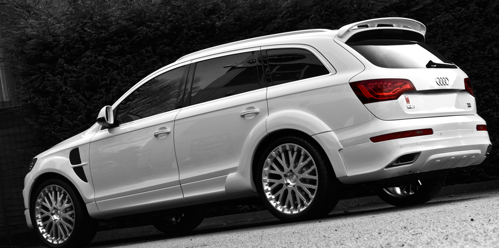 Audi Q Wide Track By Project Kahn Review Top Speed - Audi q 745 car