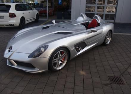 mercedes-benz slr mclaren stirling moss for sale in miami | top speed