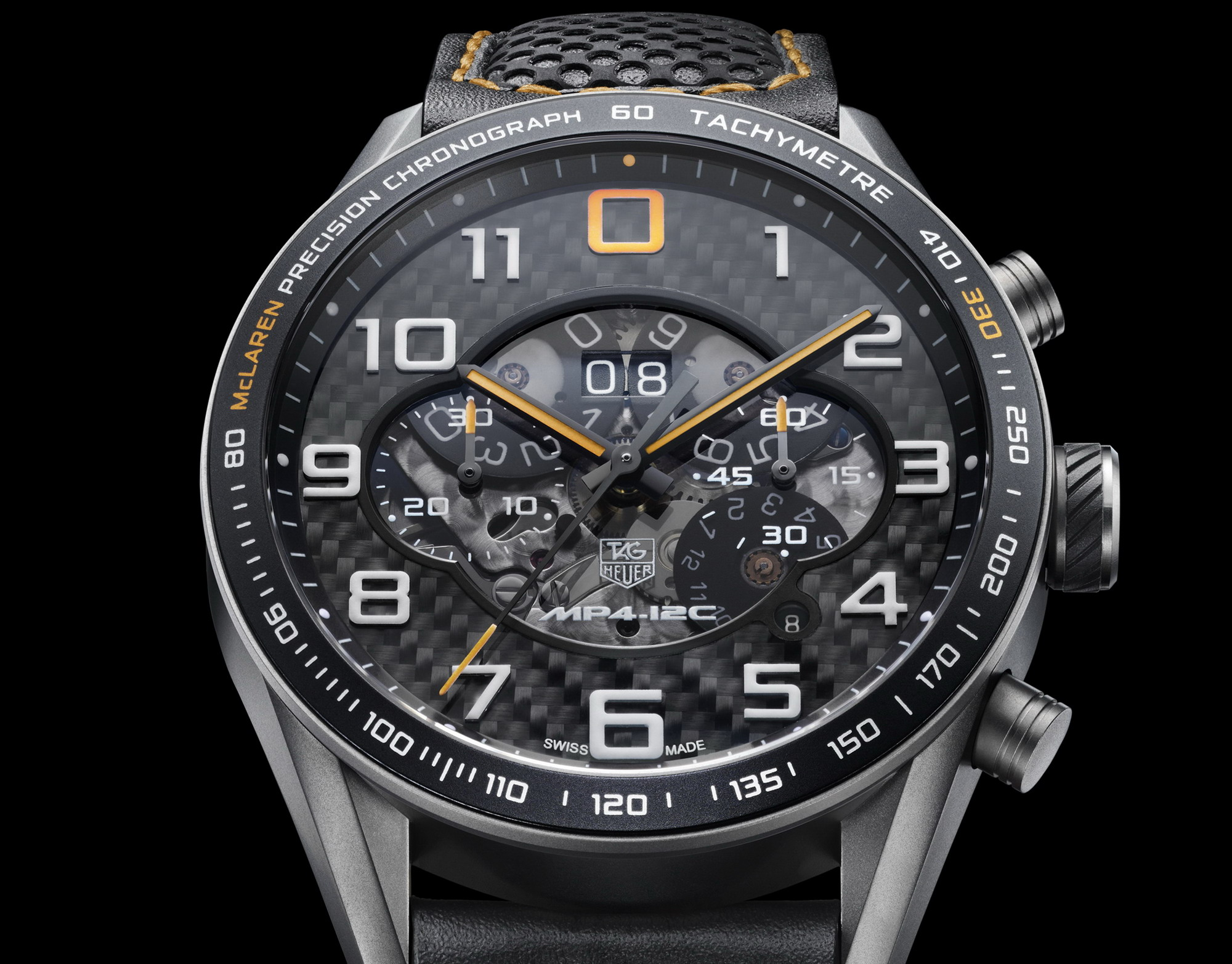 TAG Heuer McLaren MP4-12C Chronograph | Top Sd