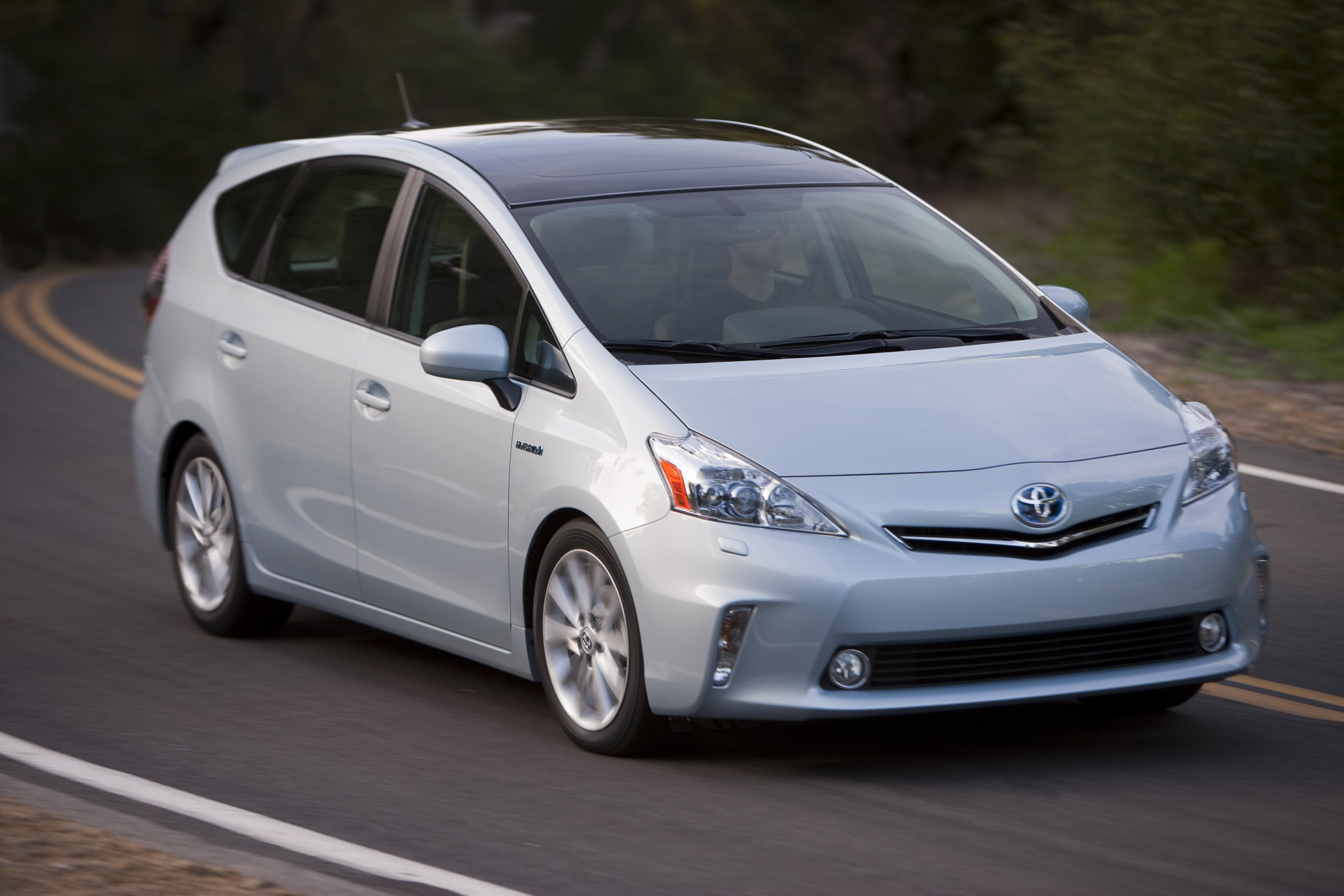 2012 Toyota Prius V Top Speed