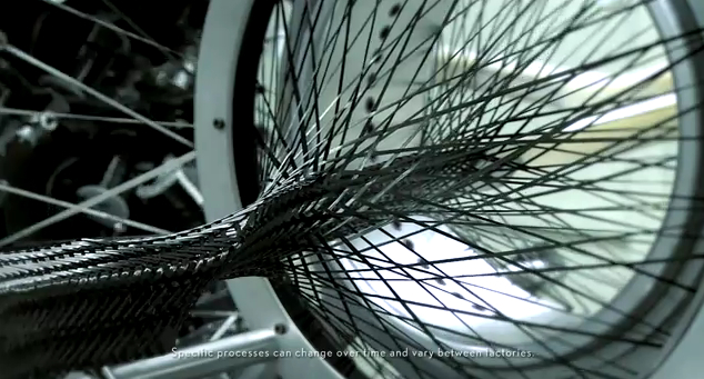 Video Lexus Develops Carbon Fiber Loom For The Lf A