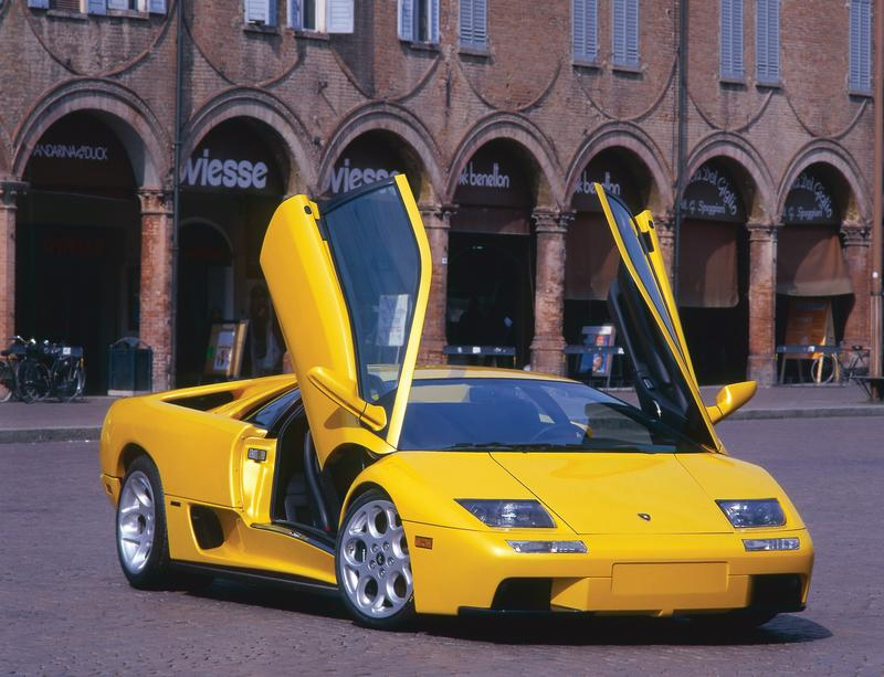 2001 Lamborghini Diablo SV 6.0 | Top Speed. »