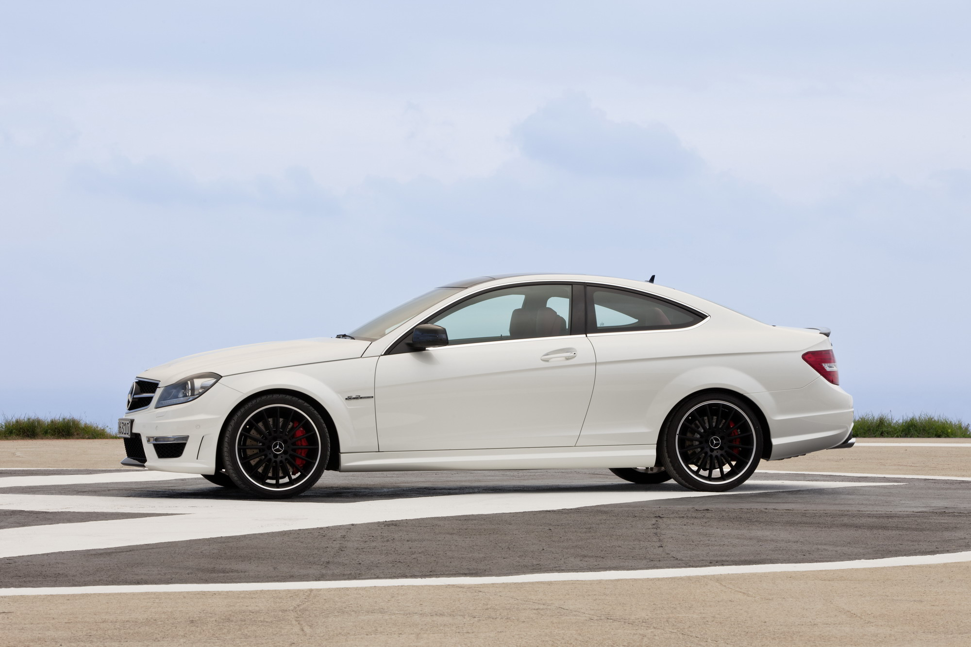 2013 Mercedes C63 AMG Coupe | Top Speed