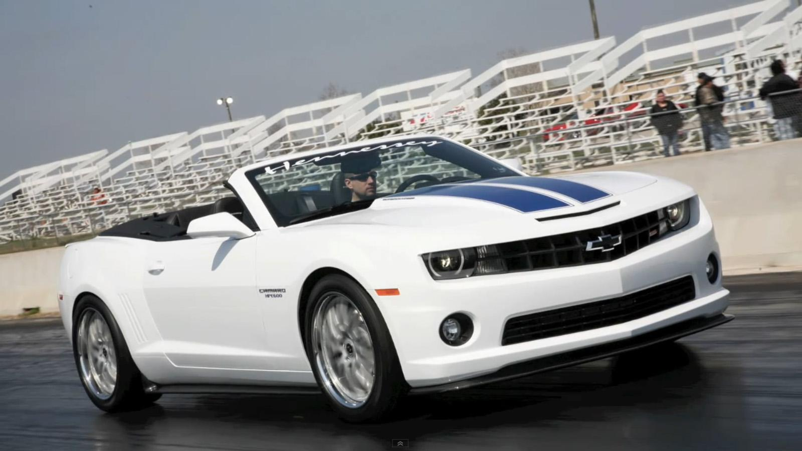 2011 Chevrolet Camaro Convertible Hpe600 By Hennessey