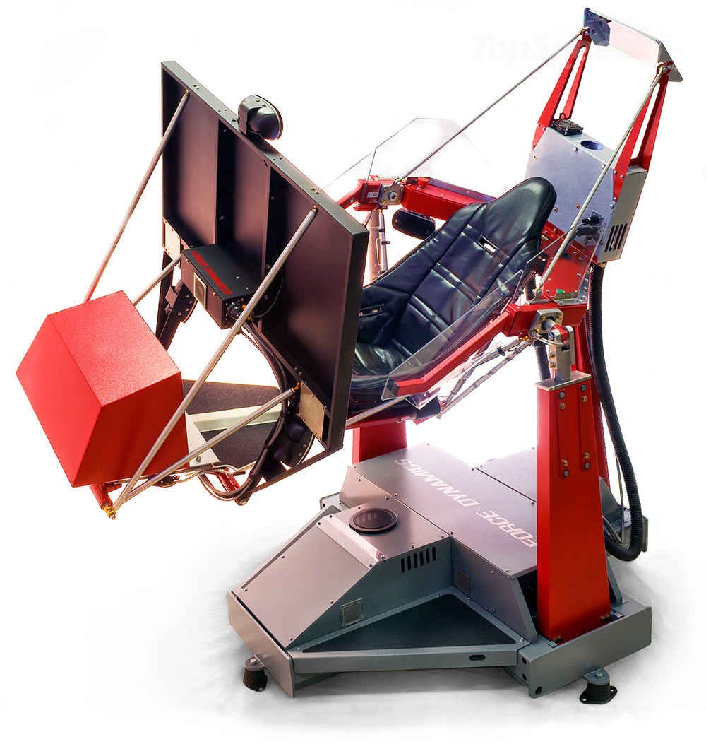 Force Dynamics Simulator Is The God Of Gaming Chairs