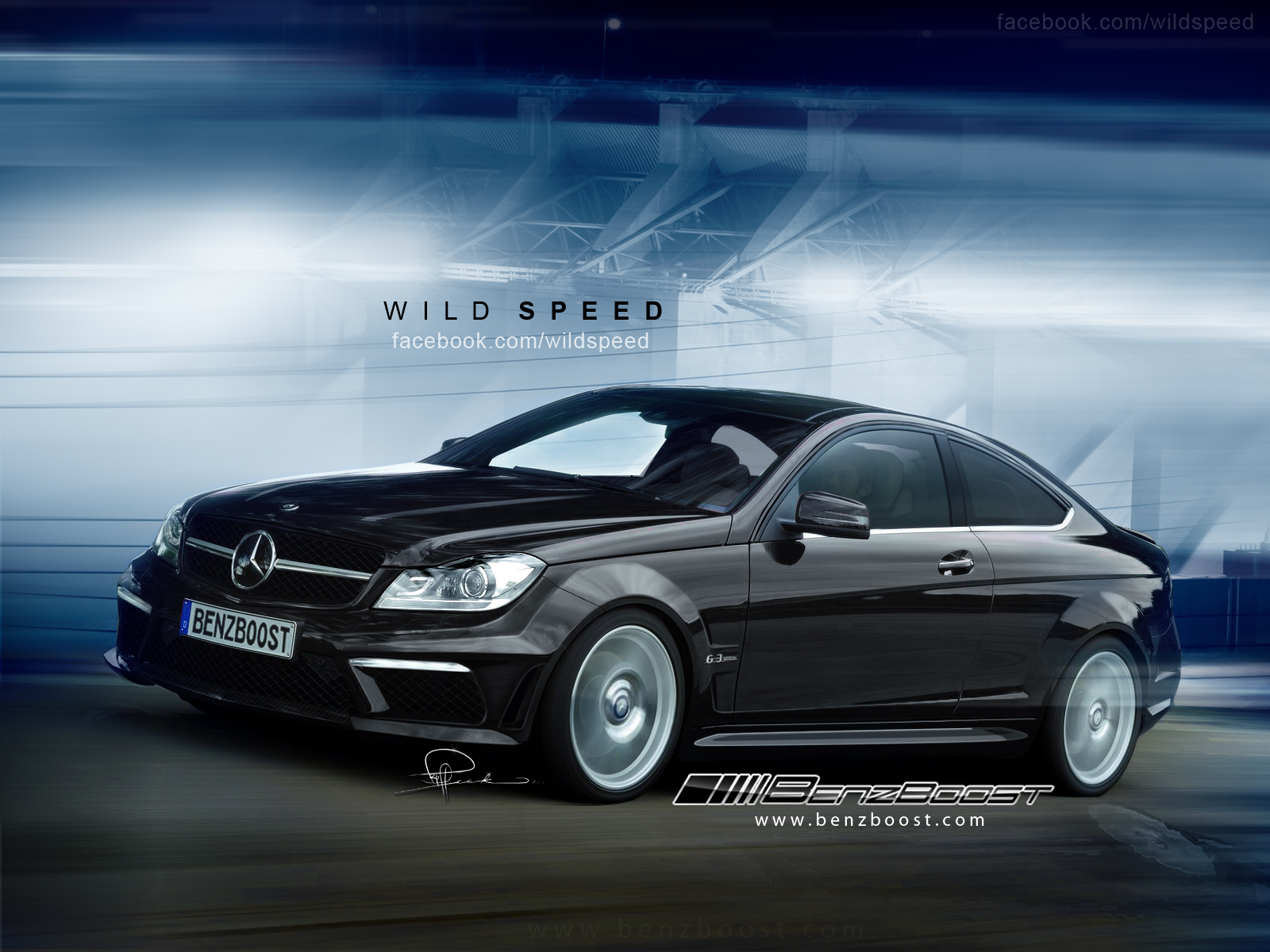 2013 Mercedes C63 AMG Black Series Coupe | Top Speed
