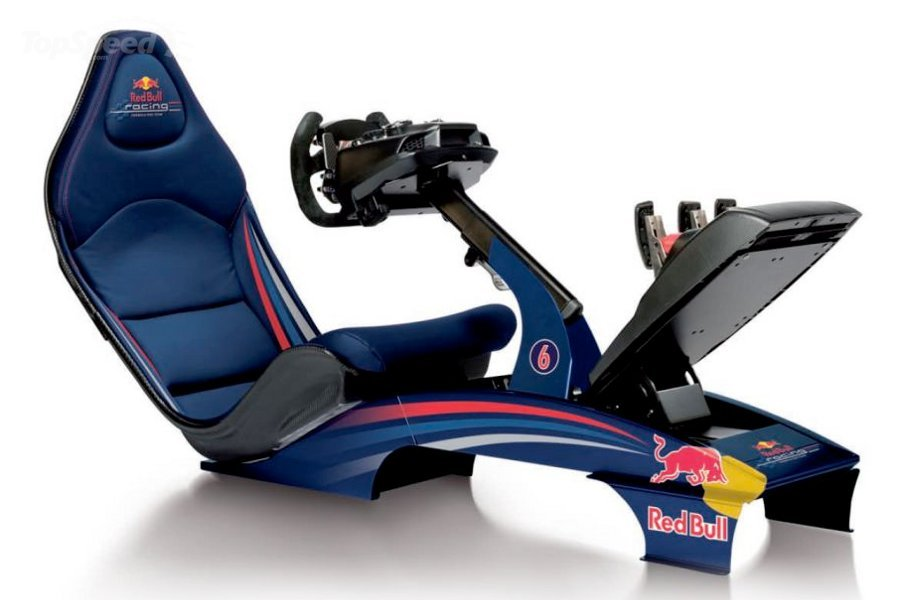 Playseat F1 Red Bull Racing Game Simulator Is Your Ticket To The ...