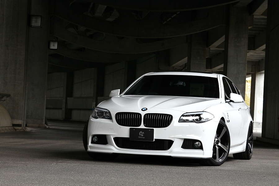 2011 BMW F10 M-Sport Package By 3D Design | Top Speed