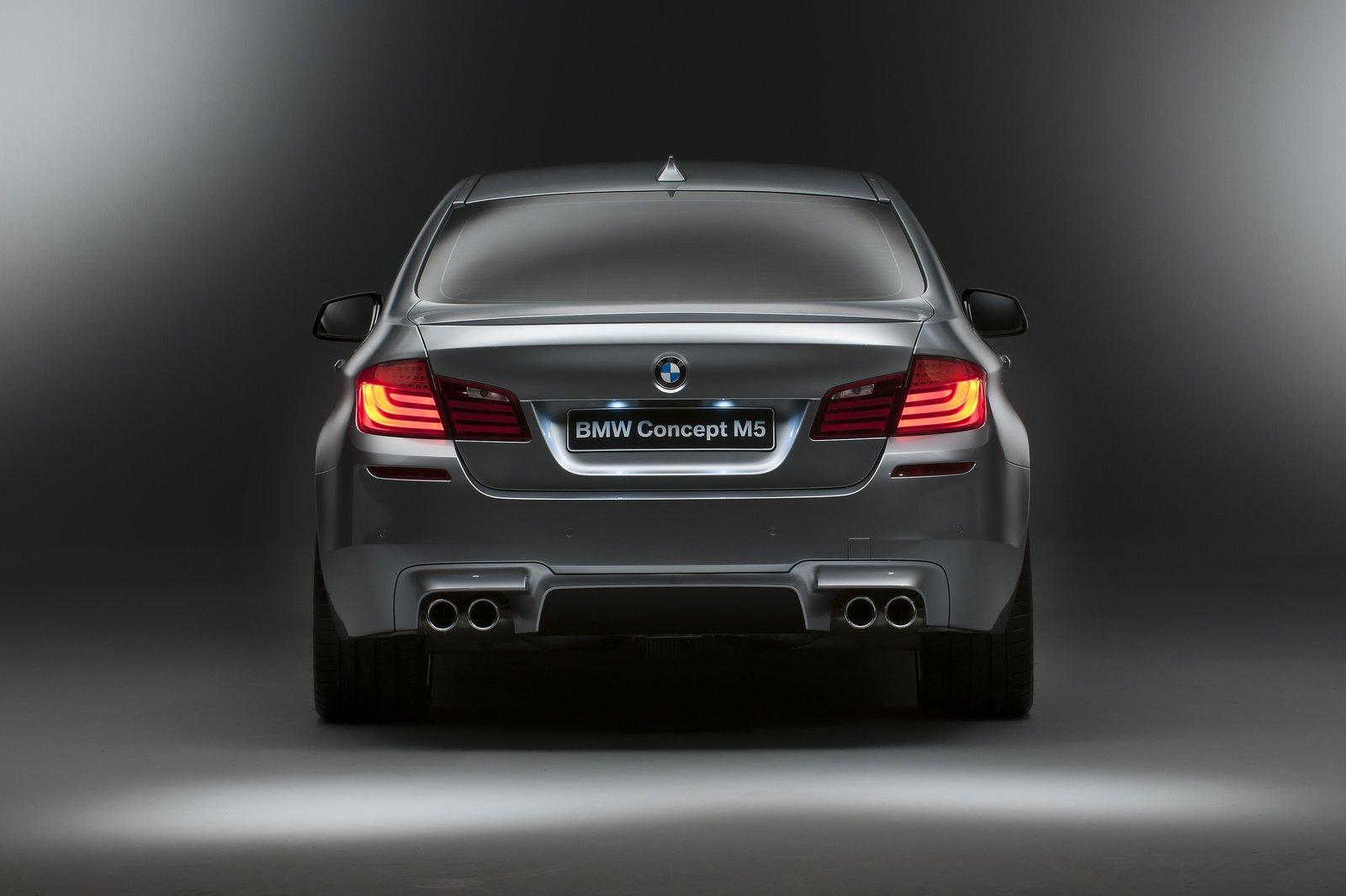 2012 BMW M5 Concept Review - Top Speed