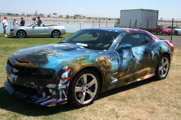 2011 Chevrolet Camaro Art Car
