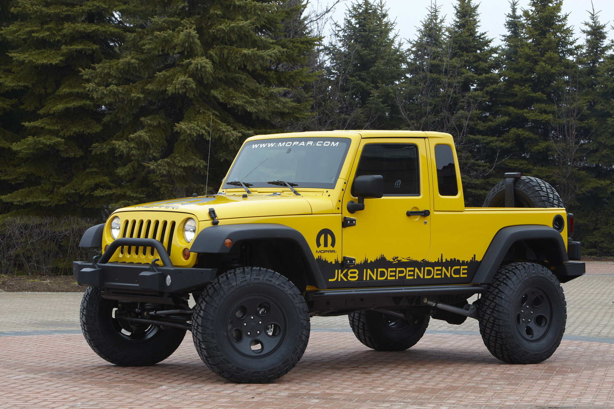 Jeep Wrangler Jk8 >> 2011 Jeep Wrangler Jk 8 Independence Review Top Speed
