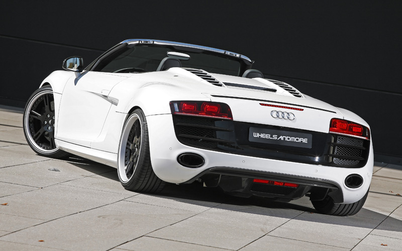 2011 Audi R-Stream V10 Spyder By Wheelsandmore | Top Speed
