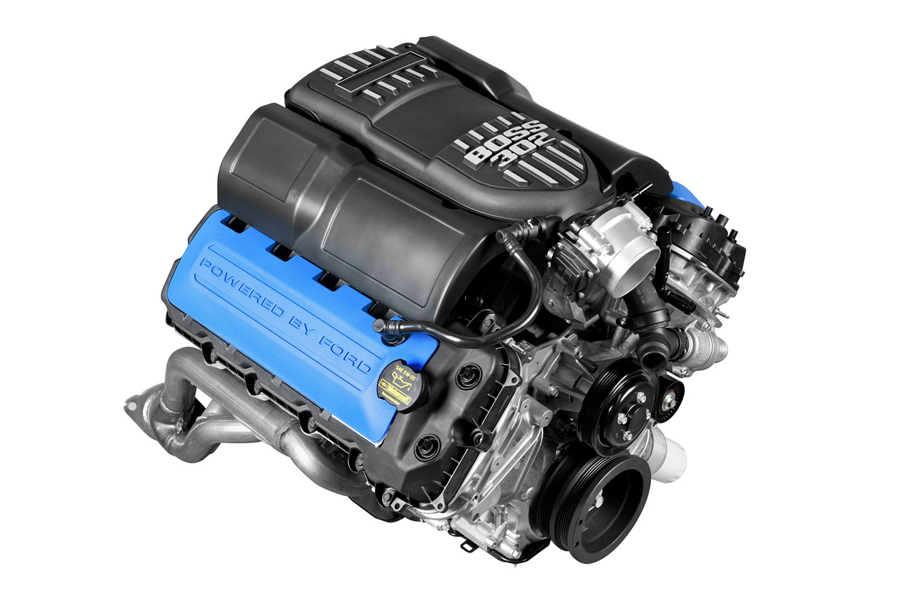 Ford racing introduces new boss 302 crate engines top speed ford racing introduces new boss 302 crate engines top speed freerunsca Choice Image