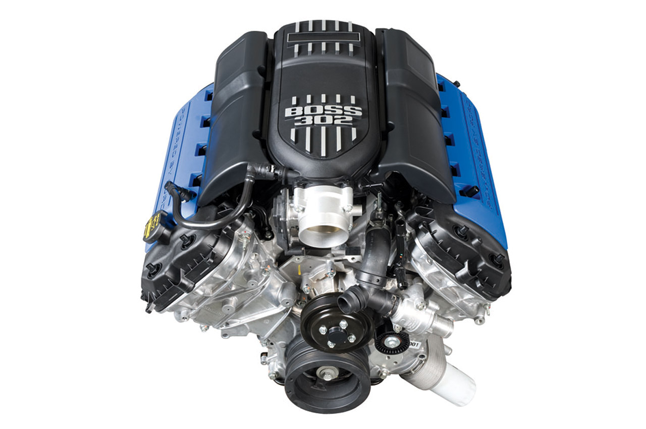 Ford racing introduces new boss 302 crate engines top speed