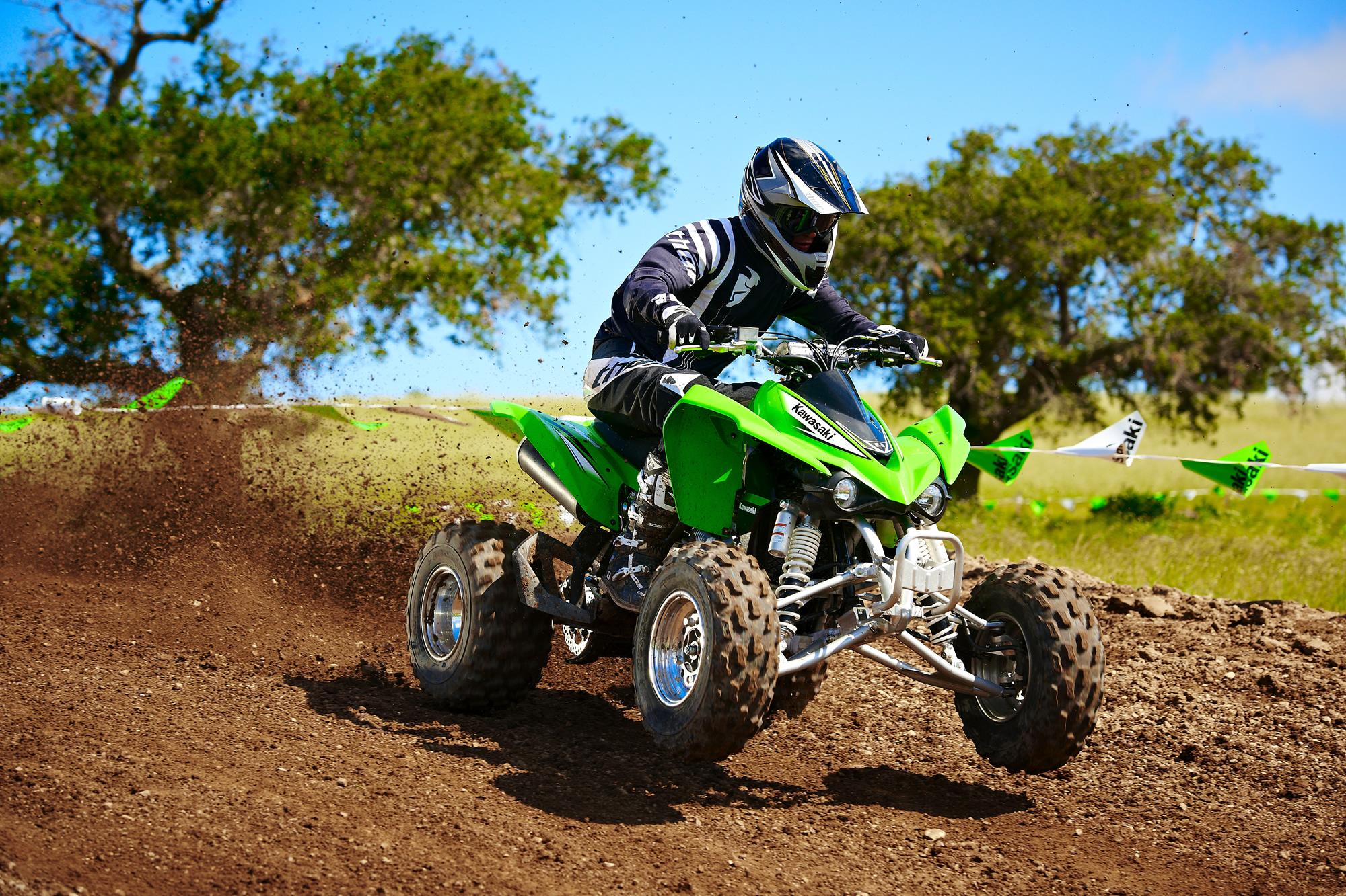 2012 Kawasaki KFX 450R | Top Speed